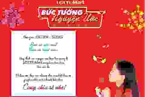 Hãy biến ước mơ thành hiện thực bằng cách chia sẻ với Lotte Mart