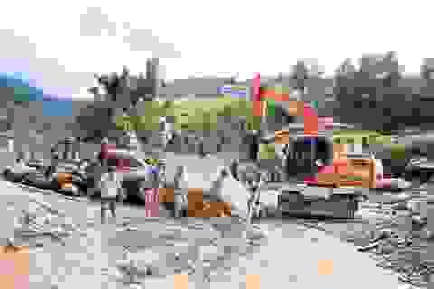 Nỗ lực tìm kiếm người mất tích trong lũ quét tại Yên Bái