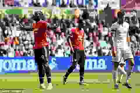 Swansea 0-4 MU: 10 phút cuối tưng bừng
