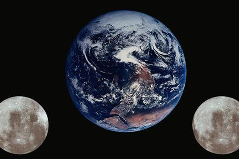 Trái Đất có nhiều hơn một Mặt Trăng