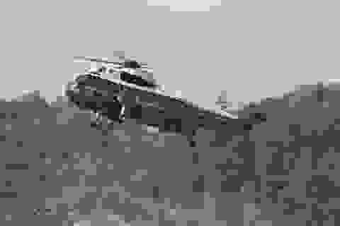 Trực thăng của Tổng thống Trump tới cửa ngõ Triều Tiên phải quay về giữa chừng