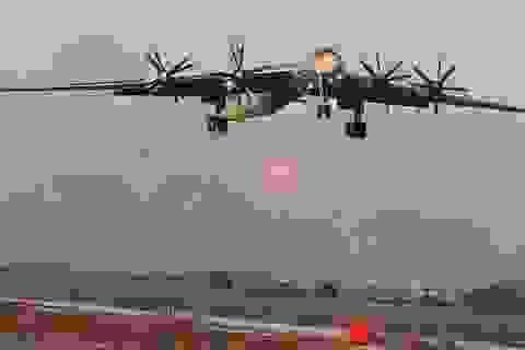 Nhật điều chiến đấu cơ chặn máy bay Nga áp sát không phận