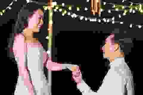 """MC Thành Trung tiết lộ màn cầu hôn hài hước: """"Làm vợ anh, lương cao lắm"""""""
