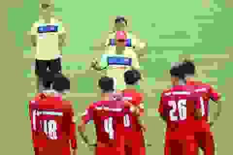 HLV Mai Đức Chung chưa quyết định tương lai sau trận thắng Campuchia