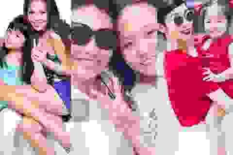 Những bà mẹ đơn thân của showbiz Việt và chuyện đời giấu nước mắt