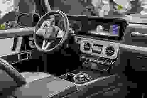 """Hé lộ hình ảnh nội thất """"hàng khủng"""" Mercedes-Benz G-Class thế hệ mới"""