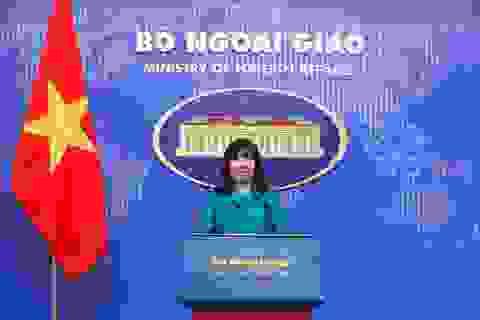 Bộ Ngoại giao có nữ phát ngôn viên mới