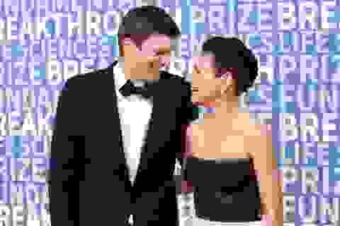 Mila Kunis và lần hiếm hoi xuất hiện bên chồng