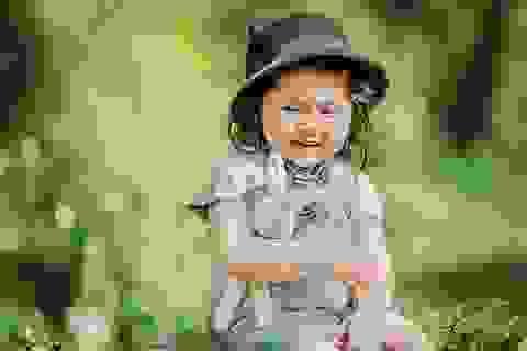 """""""Tiểu thư"""" Mimi 2 tuổi xinh như thiên thần ở Đà Lạt"""