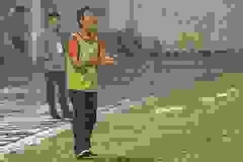 HLV Minh Phương thừa nhận Long An không còn cơ hội trụ lại V-League