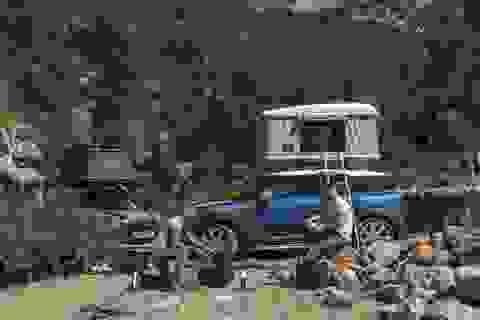 Dựng lều trên nóc xe - Tại sao không?
