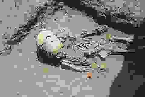 """Tìm thấy mộ của """"người ngoài hành tinh"""" trong cuộc khai quật ở Crưm?"""