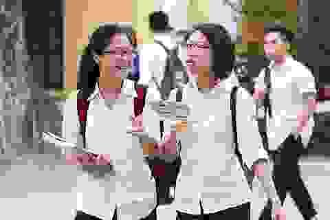 Đáp án tham khảo môn tiếng Anh THPT quốc gia 2017