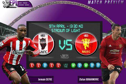 Sunderland - Man Utd: Cơn khát chiến thắng