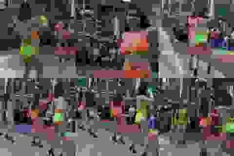 Công viên nước Đầm Sen tổ chức nhảy khêu gợi, phản cảm phục vụ… trẻ em!