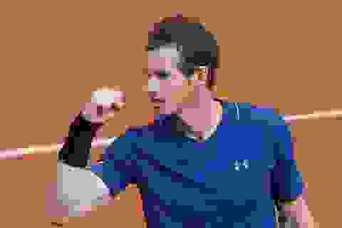Roland Garros: Murray phải chơi bốn set, A.Zverev bị loại