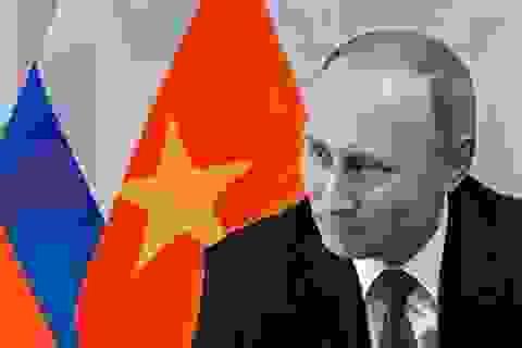 Ấm lòng món quà từ nước Nga