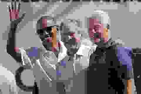 3 cựu Tổng thống Mỹ hội ngộ trên sân golf