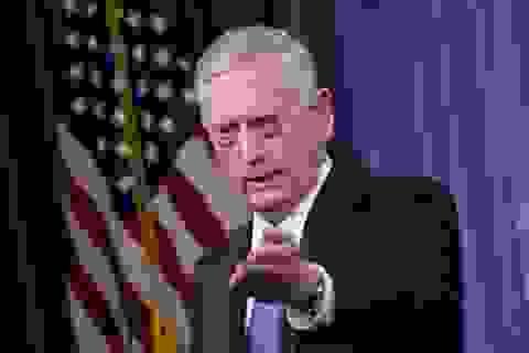 Bộ trưởng Quốc phòng Mỹ tiết lộ biện pháp quân sự với Triều Tiên