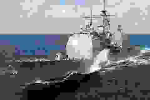 Mỹ triển khai tàu khu trục tên lửa tới Đông Á