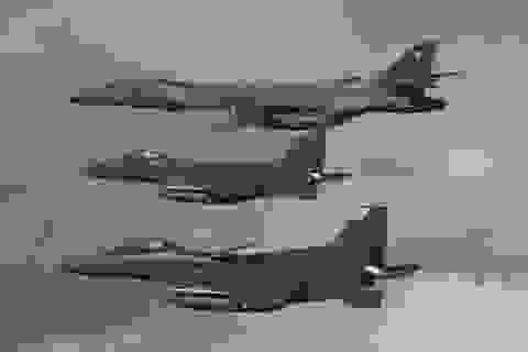 Hàng loạt máy bay chiến đấu Mỹ áp sát Triều Tiên