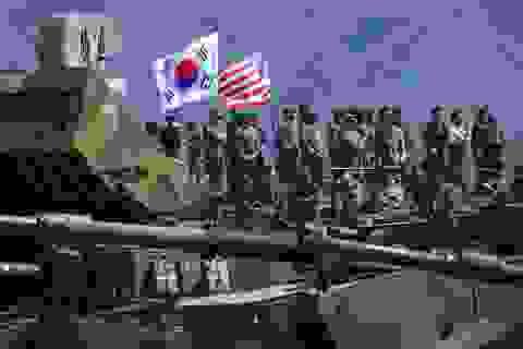 Lầu Năm Góc lên tiếng việc đưa gia đình lính Mỹ khỏi bán đảo Triều Tiên
