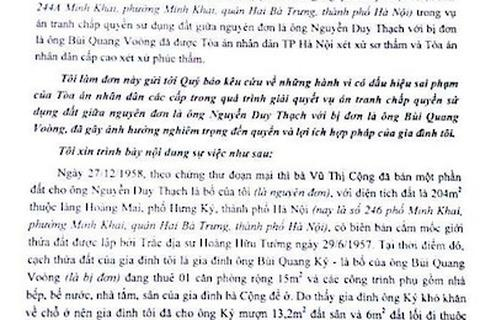 Hà Nội: Cho mượn đất, Toà xử mất luôn đất?