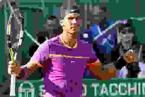 Monte Carlo: Nadal dễ dàng giành vé vào chung kết