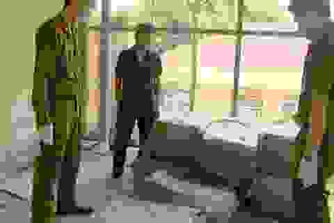 Thu giữ 400kg nầm lợn tẩm ướp hóa chất nhập lậu từ Trung Quốc