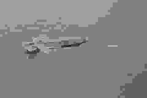 """Tiêm kích F-35 phóng tên lửa trong trạng thái """"bay ngửa''"""