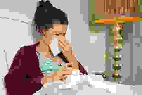 Làm gì khi bị ngạt mũi?