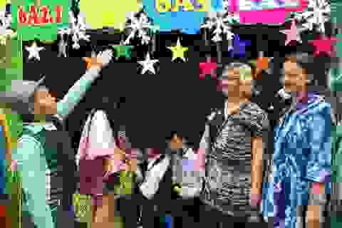 Rực rỡ sắc màu trong Ngày hội Ngôn ngữ THCS Ngô Sĩ Liên