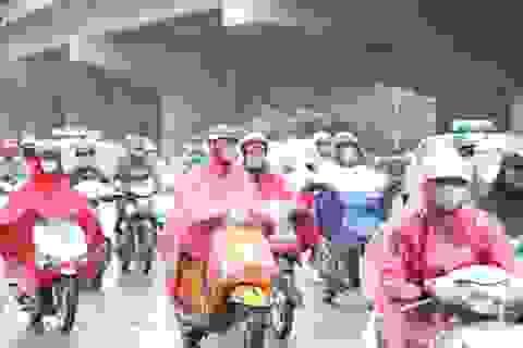 Chiều tối nay Hà Nội mưa giông