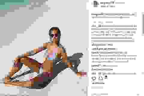 Người mẫu đăng ảnh sexy để chia buồn nạn nhân của bão khiến dân mạng phẫn nộ