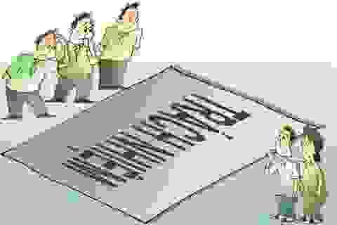 Lại xung khắc lợi ích nhóm và lợi ích nhân dân