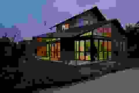 Ngắm vẻ khác lạ của ngôi nhà 120m2 xây hết 600 triệu ở ngoại ô Hà Nội