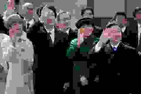 Thủ tướng Abe, Hoàng Thái tử ra sân bay tiễn Nhật Hoàng lên đường thăm Việt Nam