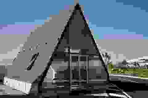 Thiết kế nhà đột phá cho phép hoàn thiện chỉ trong... một buổi sáng