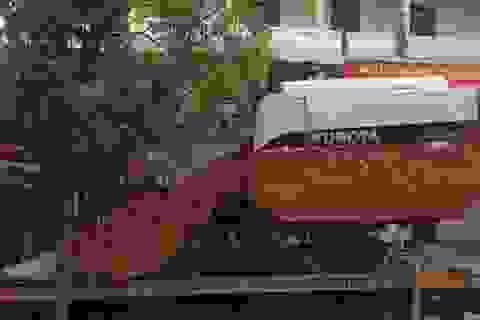 Trộm máy gặt ở Thanh Hóa đưa về Hải Dương cất giấu