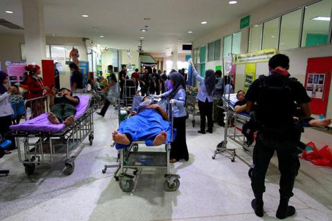 Nổ bom liên tiếp tại Thái Lan, 1 người chết, 20 người bị thương