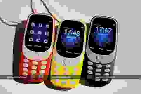 Vị trí nào cho Nokia 3310 phiên bản 2017?