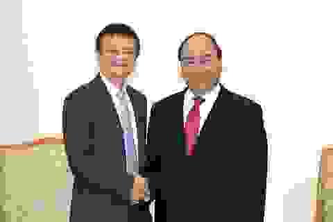 """Thủ tướng Nguyễn Xuân Phúc: """"Tỷ phú Jack Ma sẽ truyền cảm hứng cho giới trẻ Việt Nam"""""""