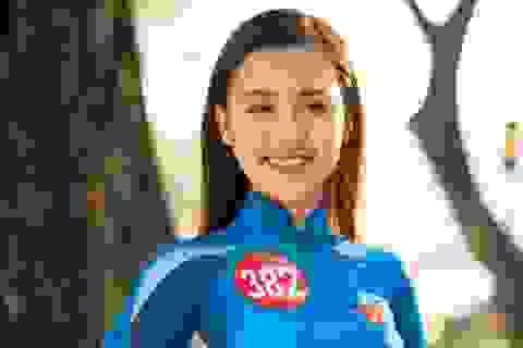 Ngắm nữ sinh chung kết Hoa khôi Sinh viên 2017 thướt tha trước giờ G