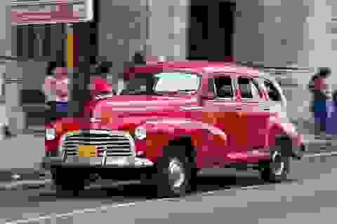 Tân trang xe cổ - Nghề kiếm bộn tiền tại Cuba
