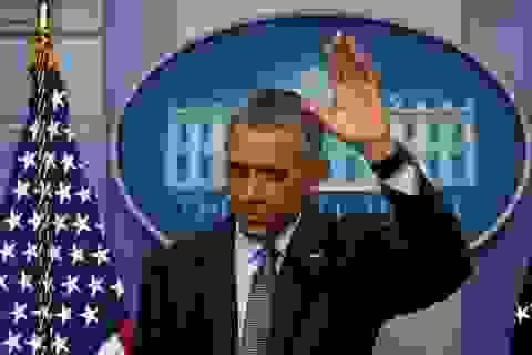 Tổng thống Obama viết gì trong những giờ cuối trước khi rời Nhà Trắng?