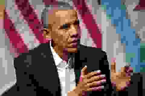 Ông Obama lần đầu tiết lộ lý do không đánh bom Syria