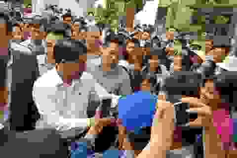 Chủ tịch Hà Nội hứa giải quyết bức xúc, dân Đồng Tâm phấn khởi thỏa lòng