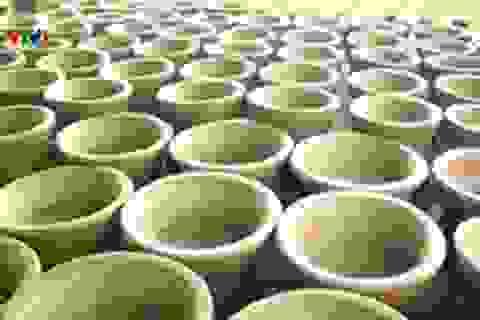 Mai một làng nghề làm bếp lò ông Táo tại Phú Yên