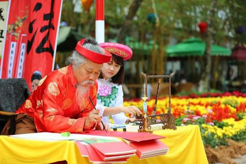 Du xuân rực rỡ tại Lễ hội hoa xuân Ecopark