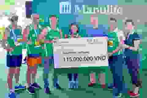 Manulife Việt Nam tiếp tục đồng hành cùng Giải Marathon Quốc tế và Tổ chức Nhịp tim VN